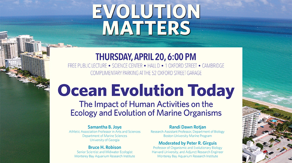 Panel discusses impact of human activity on marine ecosystems
