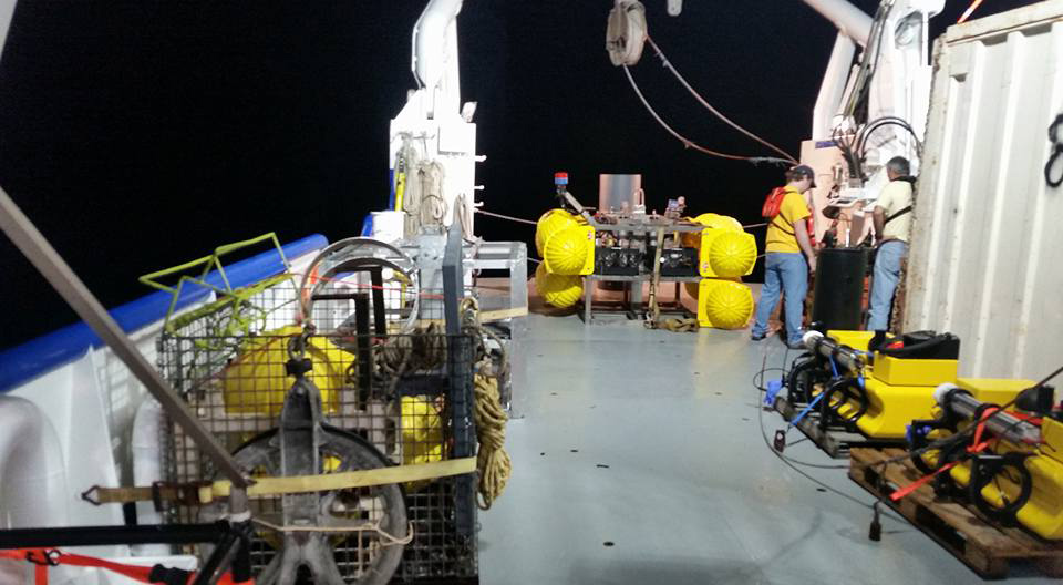 R/V Pelican sets sail for ECOGIG's first research cruise of 2016