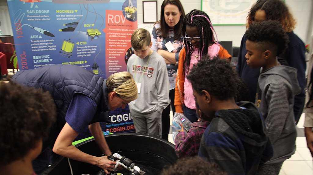 Students Discover the Ocean in Grayson, GA