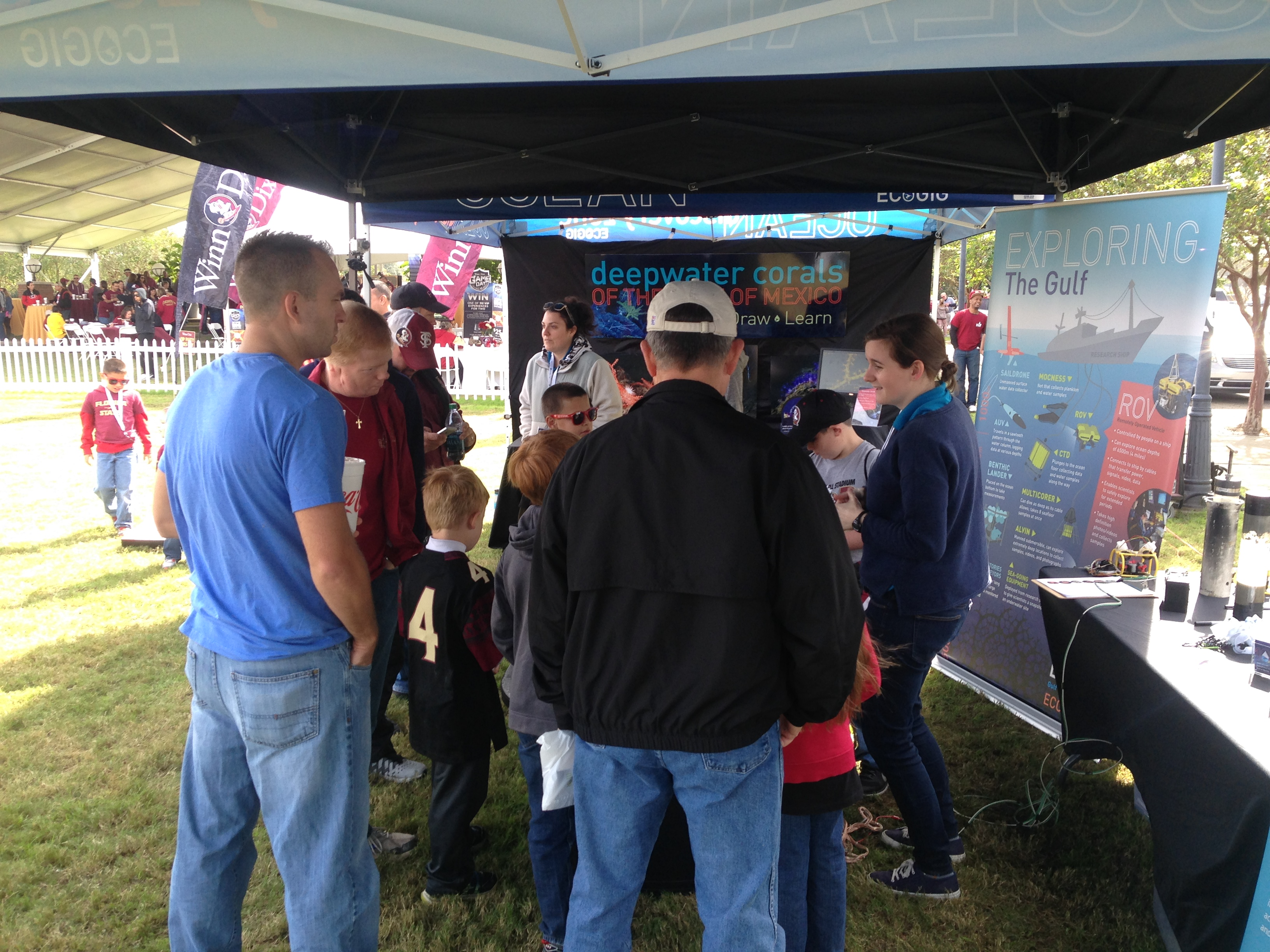 <div style='color:#000000;'><br /><br /><h2>2015 Florida State University. We enjoyed all the visitors who stopped by the Ocean Discovery Zone- our ROV tank was a hit!</h2>(C)&nbsp;ECOGIG</div>