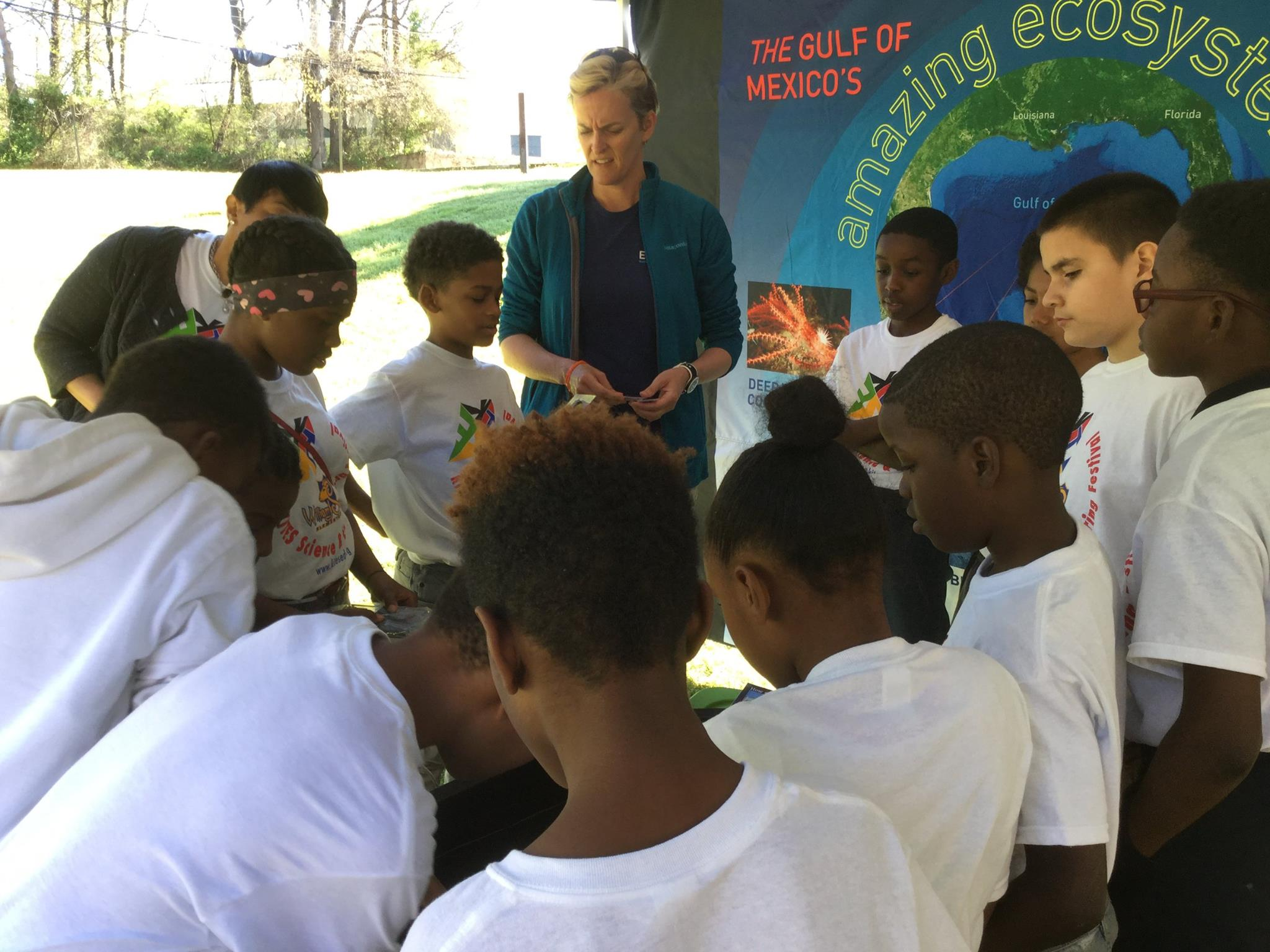 <div style='color:#000000;'><br /><br /><h2>2017 KITES Festival. ECOGIG brought the Ocean Discovery Zone to approximately 200 students at Scott Elementary in Atlanta, GA. This was part of a larger event called the KITES (Kids Interested in Technology, Engineering and Science) festival. </h2>(c) ECOGIG</div>