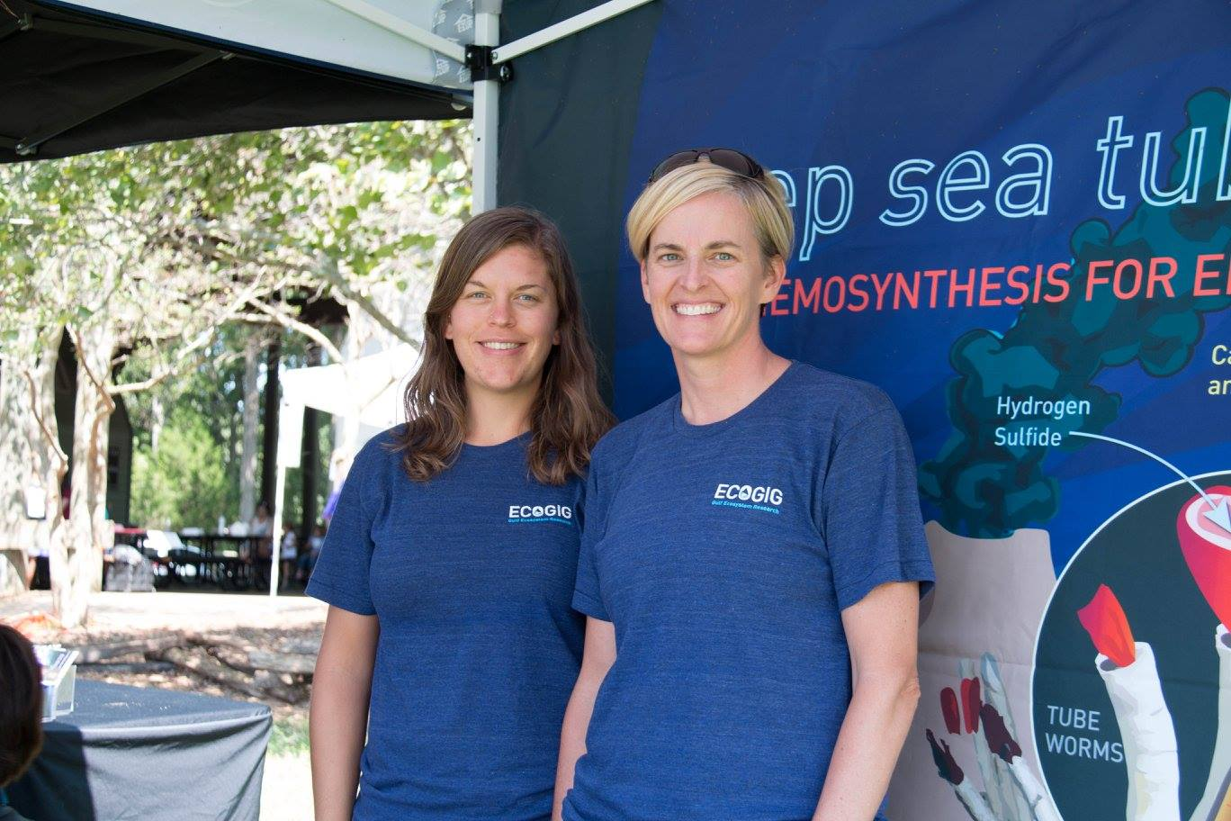 <div style='color:#000000;'><br /><br /><h2>2017 Athens Clarke County Water Festival. ECOGIG outreach staff with our newest information display - deep sea tube worms!! We took part in the Athens Water Festival - A family friendly event all about water, hosted by Athens Clarke County. Local organizations came together to educate the public about all things water! </h2>Photo courtesy of Athens Clarke County.</div>